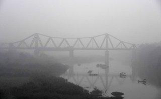 Xã hội - Chùm ảnh: Hà Nội chìm trong sương mù ngày 16/1
