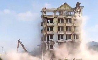 Xã hội - Phá dỡ tòa nhà 7 tầng của trùm ma túy 'Tàng Keangnam'