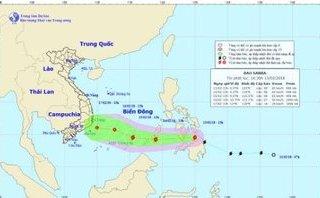 Xã hội - Bão Sanba nguy cơ vào Biển Đông, TP.HCM ra cảnh báo khẩn