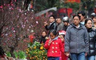 Thời tiết mùng 5 Tết: Bắc Bộ lại đón không khí lạnh