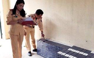 An ninh - Hình sự - Thanh Hóa: Bắt giữ 2.500 bao thuốc lá ngoại không rõ nguồn gốc