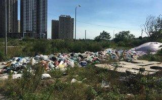 Bất động sản - Hàng loạt chung cư bị bãi rác tạm bủa vây