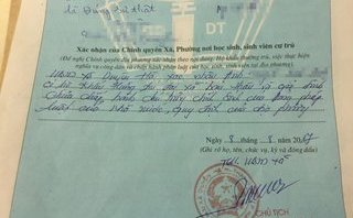 Chính trị - Xã hội - Hà Nội: Yêu cầu chủ tịch xã phê lý lịch tân sinh viên phải xin lỗi