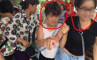 Xã hội - 'Hot girl' bán tăm giá 'cắt cổ' tại Hồ Gươm bị dân vây bắt