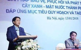 Xã hội - Chủ tịch Hà Nội  nêu lý do trồng 1 triệu cây xanh