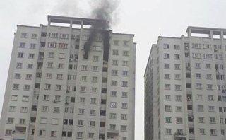 Tin nhanh - HN: Cháy chung cư CT5 Văn Khê, cư dân không nghe thấy chuông báo