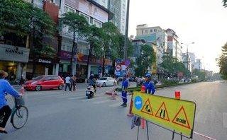 Tin nhanh - HN: Từ 20/4, rào hẹp đường Kim Mã phục vụ thi công đường sắt