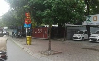 An ninh - Hình sự - Giải quyết vi phạm bến bãi trông giữ xe sau khi báo Người Đưa Tin phản ánh