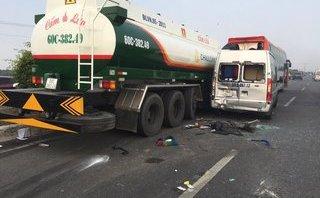 Tin nhanh - Tai nạn nghiêm trọng trên cao tốc Long Thành-Dầu Giây, 4 người nguy kịch
