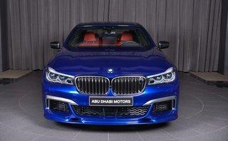 """Xe++ - Dân chơi Dubai chọn màu sơn """"độc"""" trên BMW M760Li"""