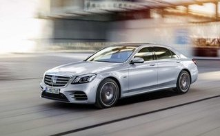 Xe++ - Mercedes-Benz S560e: Xe sang tiêu thụ nhiên liệu ngang xe máy