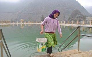 Môi trường - Hồ treo cung cấp nước cho 'xứ sở khát' Hà Giang