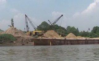 Điểm nóng - Đồng Tháp chấn chỉnh hoạt động khai thác, kinh doanh tài nguyên cát, sỏi