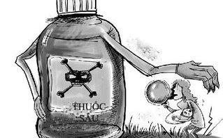 Pháp luật - Tạm giữ nghi can pha thuốc trừ sâu vào bia đầu độc người tình