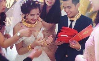 Giải trí - Cô dâu chú rể được trao 10 cây vàng, biệt thự và xe hơi trong ngày cưới