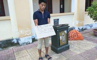 Pháp luật - Bắt đối tượng dùng xà beng phá két sắt trộm 65 triệu đồng
