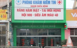 """Xã hội - Trưởng trạm y tế mở phòng khám """"chui"""": Sở Y tế Nghệ An nói gì?"""
