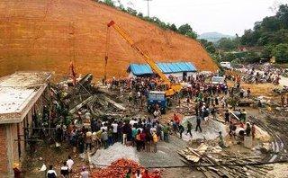 Xã hội - Sập giàn giáo thủy điện ở Lào, 2 lao động Việt tử vong