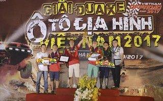 Xe++ - Kết quả chính thức Giải đua xe địa hình Việt Nam 2017