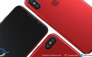 Công nghệ - iPhone X bất ngờ xuất hiện màu đỏ tía tuyệt đẹp trước giờ ra mắt