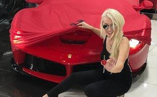 Xe++ - 'Siêu phẩm' Ferrari LaFerrari Aperta được chào bán 166 tỷ đồng ở Dubai
