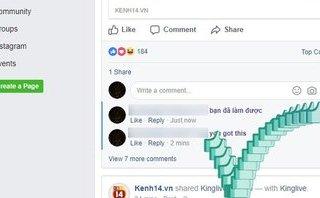 """Công nghệ - Lạ mắt với tính năng """"Nút Like nhảy' vừa xuất hiện trên Facebook"""