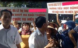 Xã hội - Phụ huynh yêu cầu Hiệu trưởng trường tiểu học Đặng Cương từ chức