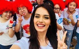Sự kiện - Ngắm nhan sắc ngọt ngào của tân Hoa hậu Thế giới 2017