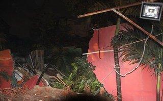 Chính trị - Xã hội - Bốn căn nhà tại TP.HCM bị cây đè sập, hai mẹ con bị thương