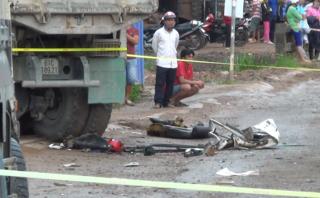 Tin nhanh - Thiếu nữ bị xe ben cán tử vong trong ngày 20/10