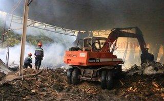 Mới- nóng - Clip: Hiện trường nơi xảy ra vụ cháy nghiêm trọng khiến 2 người chết