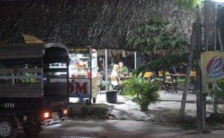 Mới- nóng - Clip: Hiện trường nam thanh niên chết trong quán cà phê chòi võng