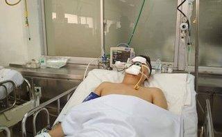 Tin nhanh - Chiến sĩ CSGT bị tông chấn thương sọ não trong khi làm nhiệm vụ