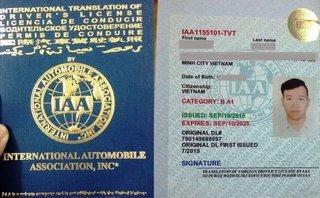 """Sau vô lăng - Cách đổi bằng lái xe quốc tế online """"ngon, bổ, rẻ"""", Tết vô tư đi du lịch"""