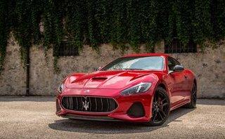 """Đẹp chất ngất với """"cây đinh ba"""" Maserati GranTurismo 2018 nâng cấp mới"""