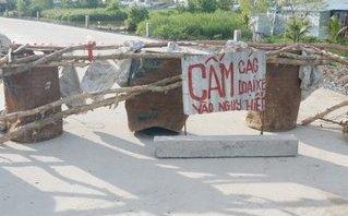 Chính trị - Xã hội - Sau 7 tháng, công trình 150 tỷ ở Cà Mau đã sụt lún
