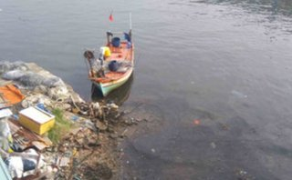 Pháp luật - Phát hiện thi thể nam giới trên sông ở Phú Quốc