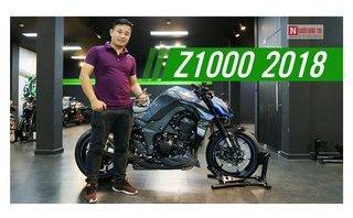 Video xe - Soi kỹ Nakebike Kawasaki Z1000 2018 giá gần 400 triệu đồng