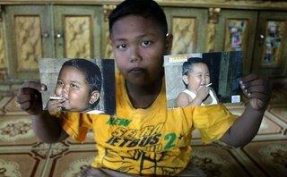 Thế giới - Phía sau câu chuyện về cậu bé 8 tuổi cai nghiện thuốc lá ở Indonesia