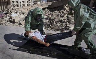 Thế giới - Phía sau báo cáo quân đội Syria dùng vũ khí hóa học