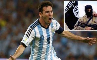 Thế giới - IS chế hình ảnh Messi khóc ra máu, dọa tấn công World Cup 2018