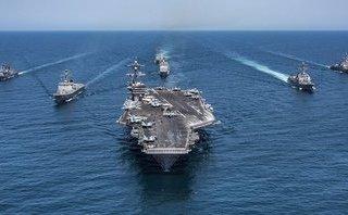 Quân sự - Lý do  Mỹ, Hàn, Australia tập trận chung trong lúc TT Trump công du