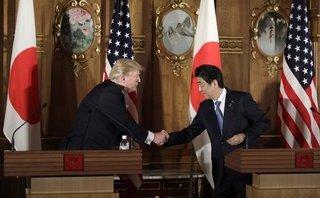 Quân sự - Tổng thống Trump và Thủ tướng Abe nói về khả năng bắn hạ tên lửa Triều Tiên