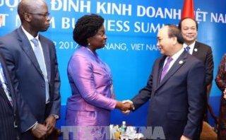 Tiêu điểm - Thủ tướng Nguyễn Xuân Phúc phát biểu khai mạc Hội nghị Thượng đỉnh Kinh doanh Việt Nam
