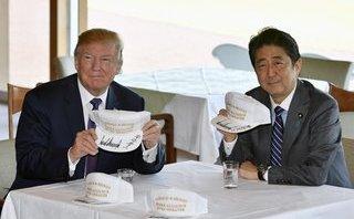 Quân sự - Tổng thống Mỹ thăm Nhật Bản: Ông Donald Trump muốn Tokyo mạnh hơn về quân sự?