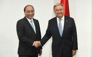 Tiêu điểm - Thủ tướng Nguyễn Xuân Phúc gặp Tổng Thư ký LHQ và Chủ tịch EC