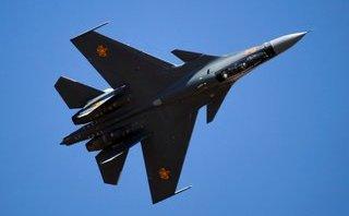 """Quân sự - """"Kẻ hủy diệt mọi chiến đấu cơ"""" Su-30SM1 của Không quân Nga"""