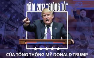 Tiêu điểm - [Infographic] Năm 2017 thành công và 'bão táp' của Tổng thống Mỹ Donald Trump