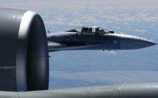 Tiêu điểm - Bị Su-27 Nga áp sát, máy bay do thám Mỹ rung lắc dữ dội