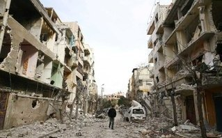 Quân sự - Syria: Tổng thống Putin lệnh ngừng đánh bom 5 tiếng mỗi ngày ở Đông Ghouta